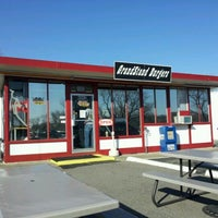 Photo taken at Grandstand Burgers by Joel M. on 3/10/2012