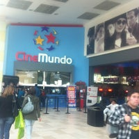 Photo taken at CineMundo by Santiago F. on 6/8/2012