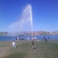 Photo taken at Fountain Park by Ember B. on 3/11/2012