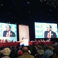 Photo taken at Buffalo Niagara Convention Center by David B. on 4/27/2012