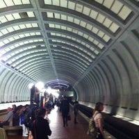 Photo taken at Friendship Heights Metro Station by Rob M. on 5/18/2012