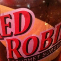 Photo taken at Red Robin Gourmet Burgers by Mark D. on 2/9/2012