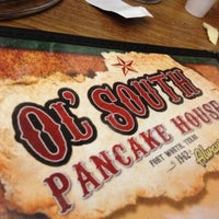 Photo taken at Ol' South Pancake House by Brad on 4/21/2012