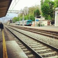 Photo taken at Stazione Vercelli by Roberto B. on 4/17/2012