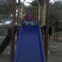 Photo taken at Parque Inés de Suárez by Ginette R. on 5/6/2012