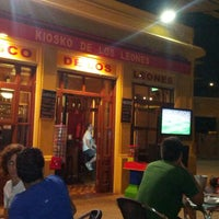 Photo taken at Kiosko de los Leones by Felix H. on 8/29/2012