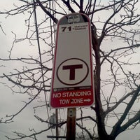 Photo taken at MBTA Bus Route 71 - Harvard Sq/Watertown Sq by Rob M. on 3/17/2012
