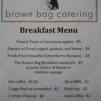 Photo taken at Brown Bag by Leo K. on 7/11/2012