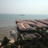 Photo taken at Glory Beach Resort by Lim P. on 8/19/2012