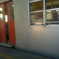 Photo taken at Estação Poá (CPTM) by Renan D. on 5/16/2012