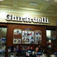 Photo taken at Ghirardelli Ice Cream & Chocolate Shop by Greg C. on 6/7/2012
