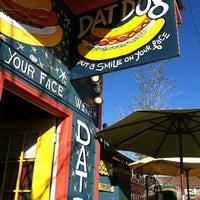 Photo taken at Dat Dog by Karli R. on 2/12/2012