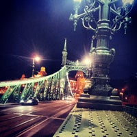Photo taken at Liberty Bridge by Milán Gábor S. on 5/20/2012