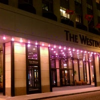 Photo taken at Westin Michigan Avenue by Miles D. on 4/21/2012