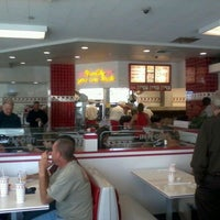 Photo taken at In-N-Out Burger by Geoff D. on 4/1/2012