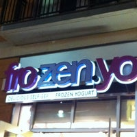Photo taken at FroZenYo by Gary S. on 8/22/2012