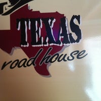 Photo taken at Texas Roadhouse by Dan S. on 6/13/2012