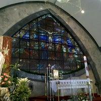 Photo taken at San Ildefonso Parish by Robert R. on 4/22/2012