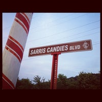Photo taken at Sarris Candies by Tammy K. on 8/1/2012
