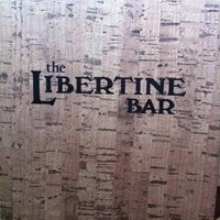 Photo taken at Libertine Bar by James R. on 4/21/2012