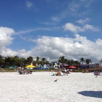 Photo taken at Fort Myers Beach by Tyler G. on 2/7/2012