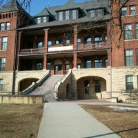 Photo taken at Catt Hall by Julie H. on 2/15/2012