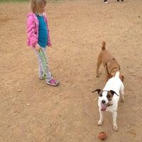 Photo taken at Oakton Dog Park by Linda H. on 3/31/2012