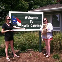 Photo taken at North Carolina Welcome Center by Missy on 5/17/2012