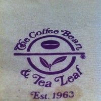 Photo taken at The Coffee Bean & Tea Leaf by aC B. on 4/14/2012