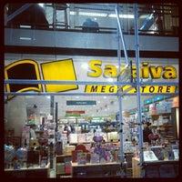 Photo taken at Saraiva MegaStore by Fernando A. on 5/2/2012