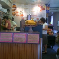 Photo taken at Sam's Bagels by Vicki M. on 7/29/2012