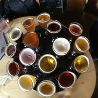 Photo taken at Upright Brewing by Rob C. on 6/23/2012