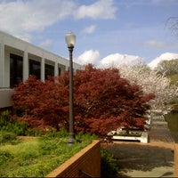 Photo taken at Cooper Library Bridge by John J. on 3/21/2012