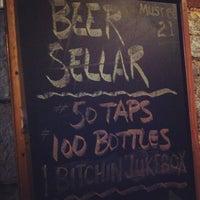 Photo taken at Beer Sellar by Scott J. on 2/12/2012