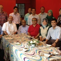 Photo taken at Restoran Rebung Chef Ismail by Zack F. on 9/3/2012