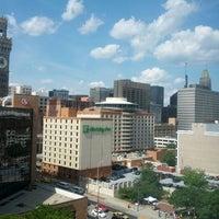 Photo taken at Hilton Baltimore by Jonathan M. on 6/8/2012