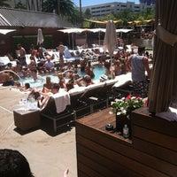 Photo taken at Bare Pool Lounge by Matt C. on 6/9/2012