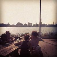 Photo taken at Williamsburg Waterfront by Mathias F. on 6/22/2012