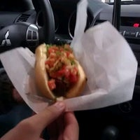 Photo taken at The Comet Hot Dog Stand by Michelle P. on 2/18/2012