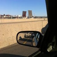 Photo taken at Casco Bay Bridge by Elicia B. on 3/27/2012