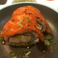 Photo taken at YO! Sushi by Erika C. on 9/10/2012