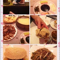 Photo taken at Chao Yang Chinese Cuisine 朝陽飯莊 by Maggie T. on 4/14/2012