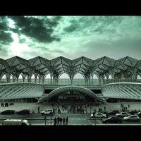Photo taken at Estação Ferroviária da Gare do Oriente by Ângelo F. on 4/6/2012