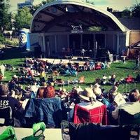 Photo taken at Warren Community Amphitheatre by Brad on 8/18/2012