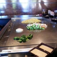 Photo taken at Fuji Japanese Steak House by Jeramiah D. on 4/13/2012