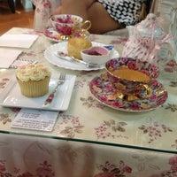 Photo taken at Victoria Rossa English Tea Room by Manvi M. on 8/20/2012