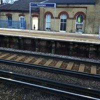 Photo taken at Faversham Railway Station (FAV) by Chris A. on 2/21/2012