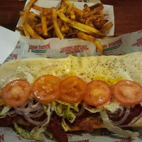 Photo taken at Penn Station East Coast Subs by Manolo L. on 2/9/2012