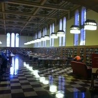 Photo taken at Doheny Memorial Library (DML) by Jason W. on 4/14/2012