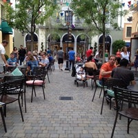 Photo taken at Las Rozas Village by Juan Luis A. on 7/28/2012